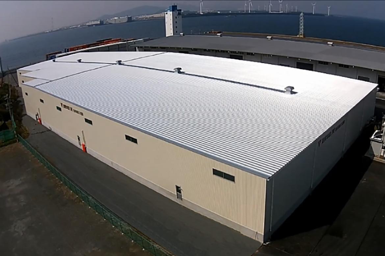 豊橋埠頭株式会社様 西埠頭第3倉庫